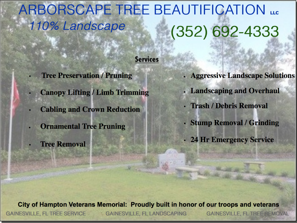 Tree Service Veterans Memorial