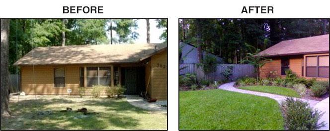 Gainesville Landscaping Walkway Garden Path